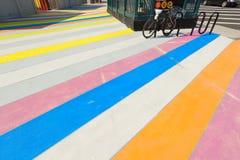 πολύχρωμο χρωματισμένο π&epsilo Στοκ Εικόνα