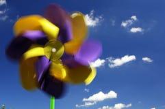 πολύχρωμο pinwheel Στοκ εικόνα με δικαίωμα ελεύθερης χρήσης
