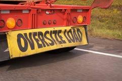 πολύ μεγάλο μέγεθος φορτίων Στοκ φωτογραφία με δικαίωμα ελεύθερης χρήσης