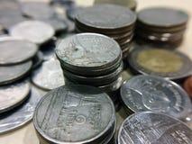 Πολύ νόμισμα κινηματογραφήσεων σε πρώτο πλάνο Στοκ φωτογραφίες με δικαίωμα ελεύθερης χρήσης