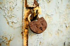 Πολύ παλαιό σκουριασμένο υπόβαθρο μετάλλων στοκ εικόνες