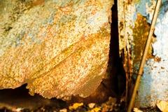 Πολύ παλαιό σκουριασμένο υπόβαθρο μετάλλων στοκ φωτογραφία με δικαίωμα ελεύθερης χρήσης