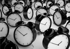 Πολύ ρολόι συναγερμών Στοκ εικόνα με δικαίωμα ελεύθερης χρήσης