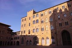 πολύ συμπαθητική άποψη του volterra Στοκ εικόνα με δικαίωμα ελεύθερης χρήσης