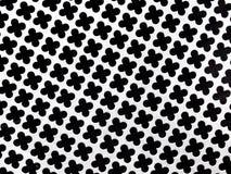 Πολύ συμπαθητικός στενός επάνω πυροβολισμός του άσπρου και μαύρου πλέγματος χάλυβα απεικόνιση αποθεμάτων