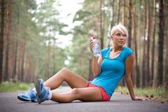 πολύ χαλαρώστε το τρέξιμο Στοκ Εικόνα