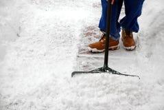 πολύ χιόνι επίσης Στοκ Εικόνα