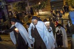 Πομπή καθολική Στοκ φωτογραφίες με δικαίωμα ελεύθερης χρήσης