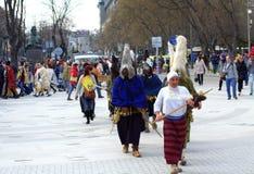 Πομπή της Βάρνας καρναβάλι Στοκ εικόνες με δικαίωμα ελεύθερης χρήσης