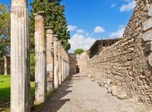 Πομπηία, Ιταλία στοκ εικόνα με δικαίωμα ελεύθερης χρήσης
