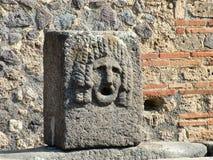 Πομπηία, Ιταλία - Γουώλ Στρητ στην Πομπηία Στοκ Εικόνες