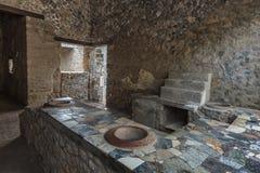 Πομπηία, Ιταλία Στοκ Εικόνα