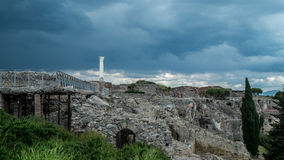 Πομπηία Ιταλία στοκ φωτογραφία