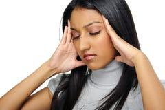 Πονοκέφαλος πίεσης Στοκ εικόνα με δικαίωμα ελεύθερης χρήσης