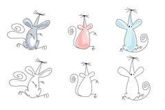 ποντίκια απεικόνισης Στοκ Εικόνες