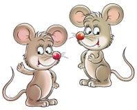 ποντίκια Στοκ εικόνες με δικαίωμα ελεύθερης χρήσης