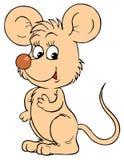 Ποντίκι (διανυσματική συνδετήρας-τέχνη) απεικόνιση αποθεμάτων