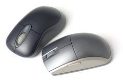ποντίκι δύο υπολογιστών Στοκ Εικόνες