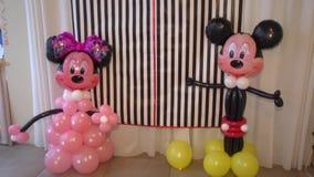 ποντίκι εμπαιγμών μπαλονιών φιλμ μικρού μήκους