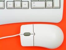 ποντίκι πληκτρολογίων υπ Στοκ Φωτογραφία