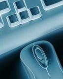 ποντίκι πληκτρολογίων Στοκ Φωτογραφίες