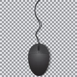 Ποντίκι που απομονώνεται στο διαφανές υπόβαθρο Στοκ Εικόνα