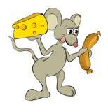 ποντίκι τροφίμων Στοκ εικόνα με δικαίωμα ελεύθερης χρήσης