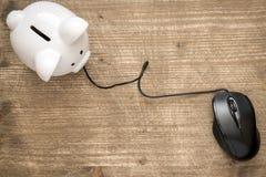 ποντίκι υπολογιστών τραπ&e Στοκ φωτογραφία με δικαίωμα ελεύθερης χρήσης