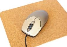 ποντίκι υπολογιστών mousepad Στοκ Εικόνες