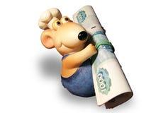 ποντίκι χρημάτων Στοκ Εικόνα