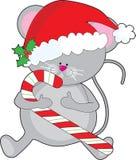 ποντίκι Χριστουγέννων απεικόνιση αποθεμάτων