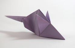 Ποντίκι Origami Στοκ εικόνες με δικαίωμα ελεύθερης χρήσης
