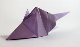 Ποντίκι Origami Στοκ φωτογραφίες με δικαίωμα ελεύθερης χρήσης