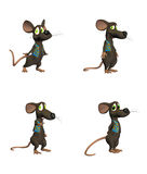ποντίκι pack2 κινούμενων σχεδί&o Στοκ εικόνες με δικαίωμα ελεύθερης χρήσης