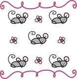 Ποντίκι Swirly Στοκ φωτογραφία με δικαίωμα ελεύθερης χρήσης