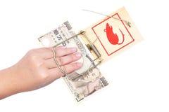 ποντικοπαγήδα χρημάτων χε& Στοκ φωτογραφίες με δικαίωμα ελεύθερης χρήσης
