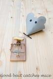 ποντικοπαγήδα Στοκ φωτογραφίες με δικαίωμα ελεύθερης χρήσης