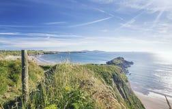 Πορεία ακτών σε Pembrokeshire στο καλοκαίρι στοκ εικόνες