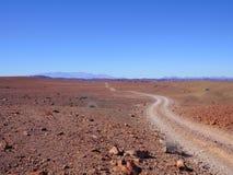 Πορεία ερήμων στοκ εικόνα