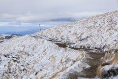 Πορεία ιχνών βουνών Στοκ Εικόνες