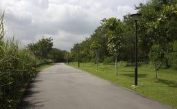 Πορεία περπατήματος και ποδηλασίας στοκ φωτογραφία με δικαίωμα ελεύθερης χρήσης