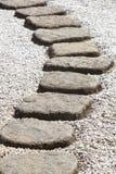Πορεία πετρών της Zen Στοκ εικόνες με δικαίωμα ελεύθερης χρήσης