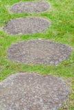 Πορεία πετρών της Zen Στοκ Φωτογραφίες