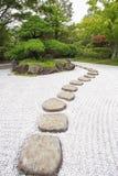 Πορεία πετρών της Zen Στοκ Εικόνες