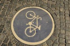 Πορεία ποδηλάτων Στοκ Εικόνες