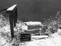 Πορεία ποδιών κλειστή Στοκ εικόνα με δικαίωμα ελεύθερης χρήσης