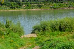 Πορεία στον ποταμό στοκ φωτογραφίες