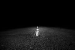Πορεία στο σκοτάδι Στοκ Εικόνες