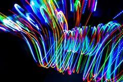 Πορεία χρώματος γραμμών Στοκ Φωτογραφία