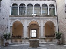 Πορείες Fermo, Ιταλία στοκ φωτογραφίες με δικαίωμα ελεύθερης χρήσης